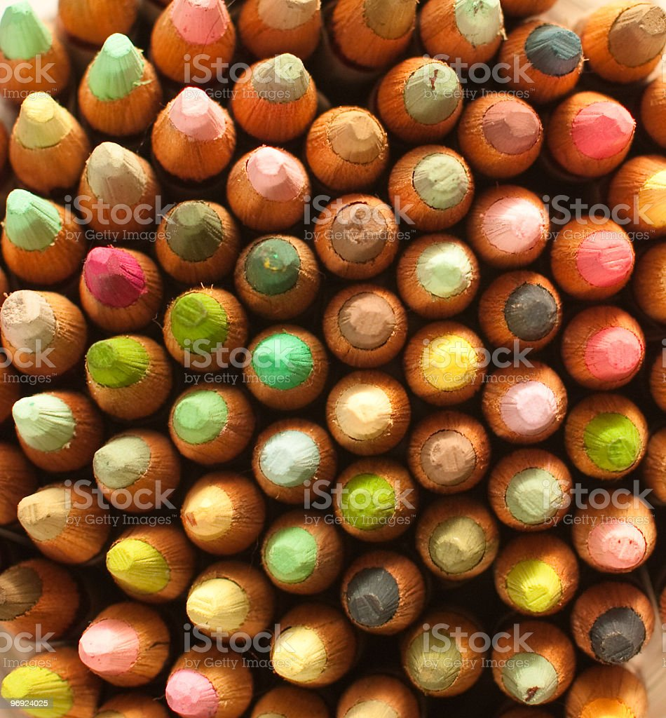 crayons for sale royalty-free stock photo
