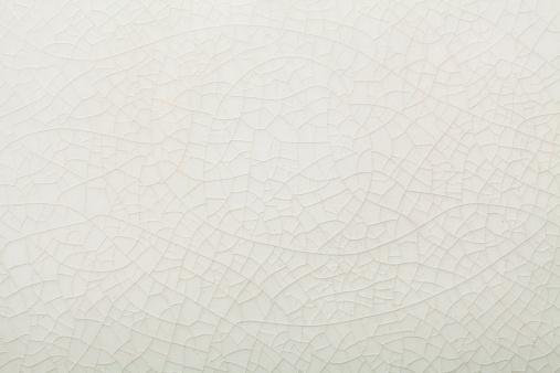 crazed white ceramic texture