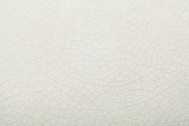 crazed white ceramic texture crazed white ceramic texture background ceramics stock pictures, royalty-free photos & images
