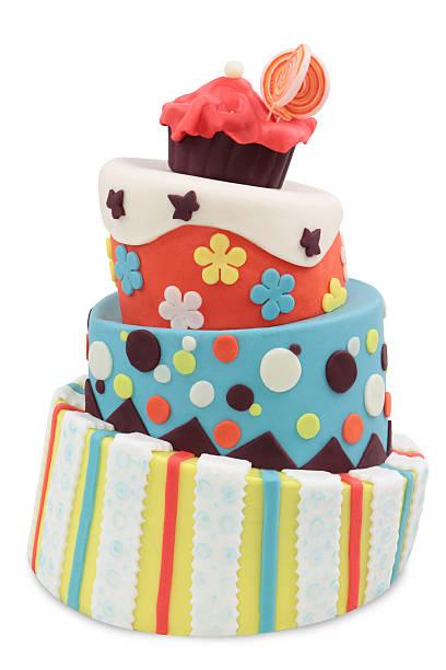 crazy cake stock photo