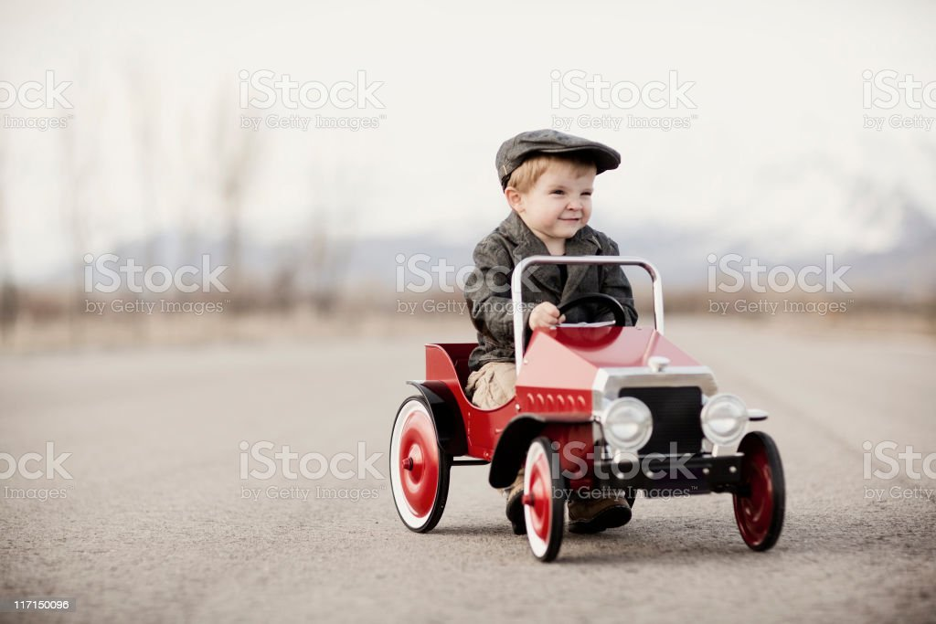 Crazy Driver stock photo