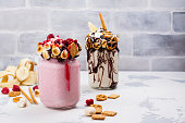 Crazy freakshake food trend