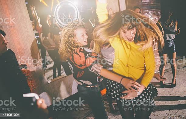 Crazy friends dancing wildly at a party in a club picture id471081004?b=1&k=6&m=471081004&s=612x612&h=v4u1bcjohbkrdydowj1xnbgsb1dhl6ioz8fa1p8mylc=