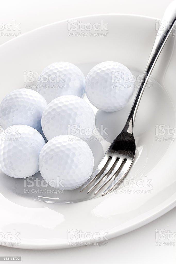 Crazy Golf stock photo