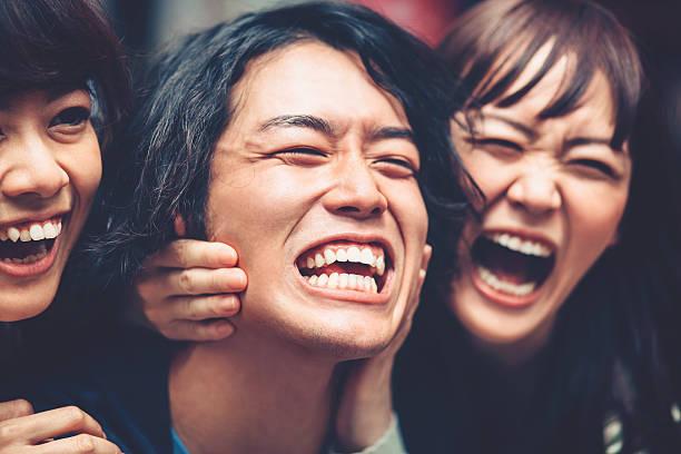 Crazy pueblo japonés - foto de stock