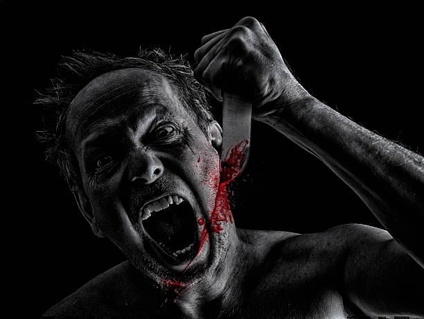 Crazy assassina - foto de acervo