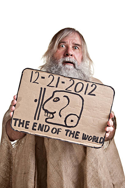 crazy mann 2012 - sprüche kalender stock-fotos und bilder