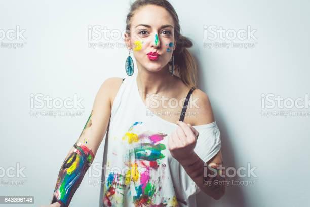 Crazy playful artist picture id643396148?b=1&k=6&m=643396148&s=612x612&h=kl3m697jufze06phnjixdx 6qfb8ighkgltc0cafn70=