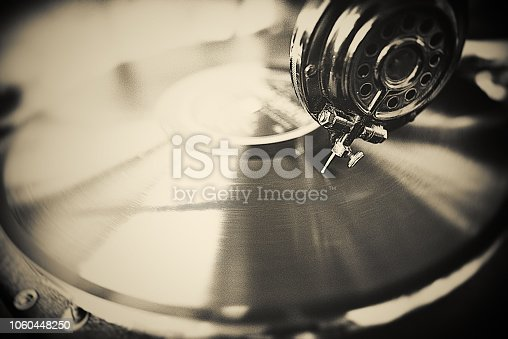 Gramophone, Analog, Music, Art, Close-up,