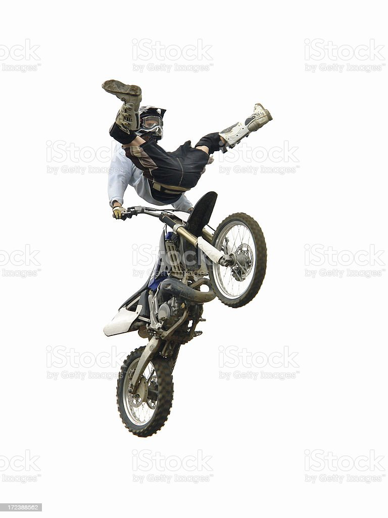 Crazy Stunt Jump royalty-free stock photo
