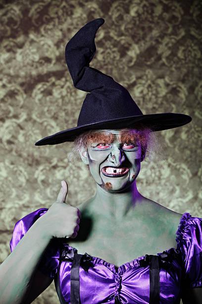 Crazy de brujas - foto de stock