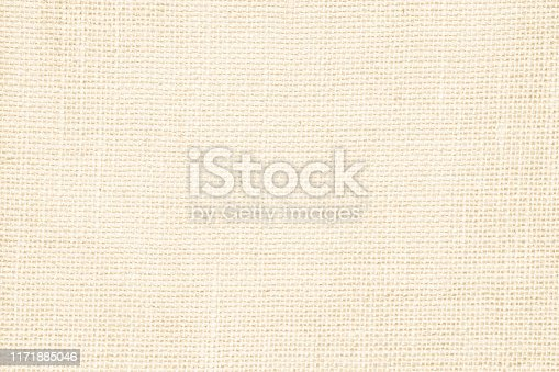 1044099896 istock photo Cream abstract sackcloth towel mock up template fabric on with background. Wallpaper of artistic wale canvas. Blanket or Curtain of pattern and copy space for text decoration. 1171885046