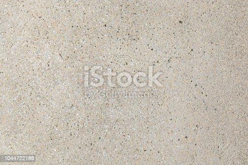 Cream aggregate concrete paving texture