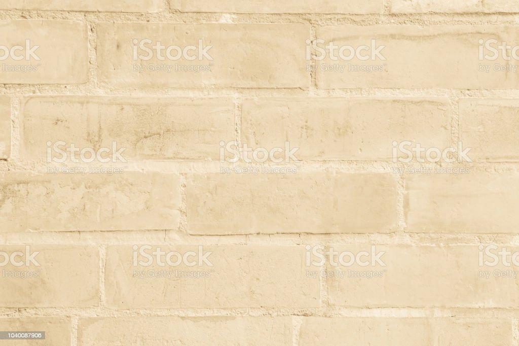 Cream And White Brick Wall Texture Background Brickwork Or Stonework