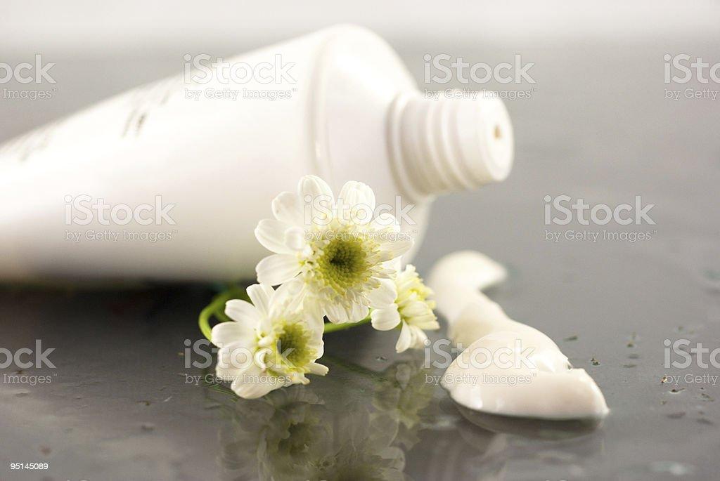Cream beauty royalty-free stock photo