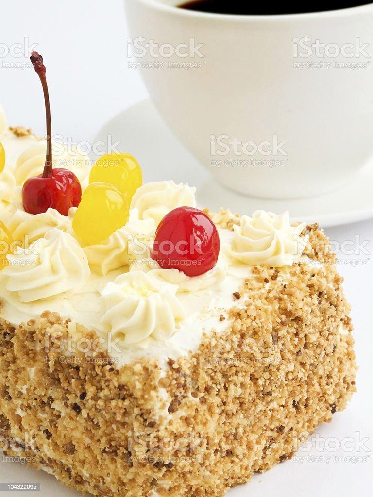 Cream cake royalty-free stock photo