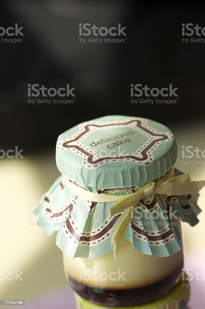 cream caramel royalty-free stock photo
