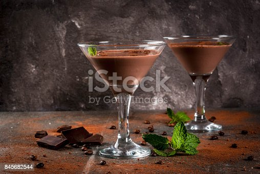 istock Cream coffee cocktail 845682544