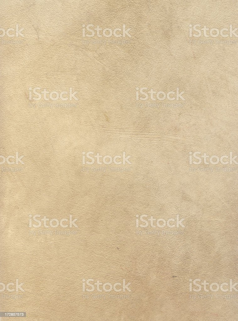 Cream color Chamois leather texture royalty-free stock photo