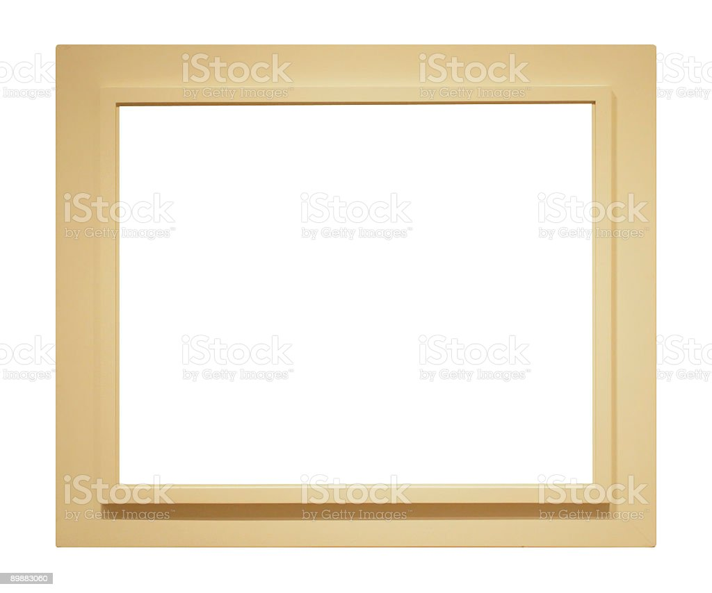 Eis Farbe Rahmen für Ihr design Lizenzfreies stock-foto