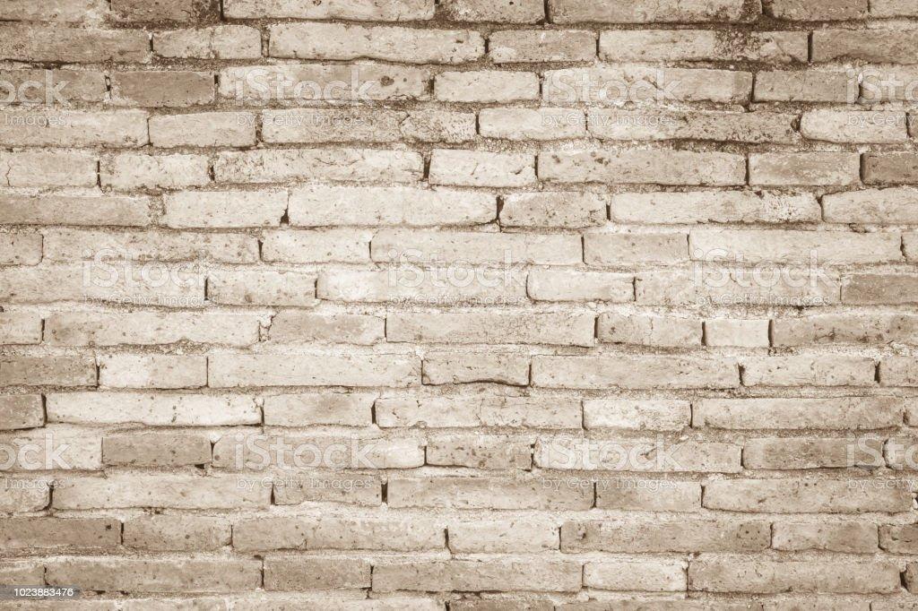 Cream Colors And White Brick Wall Art Concrete Or Stone Texture ...