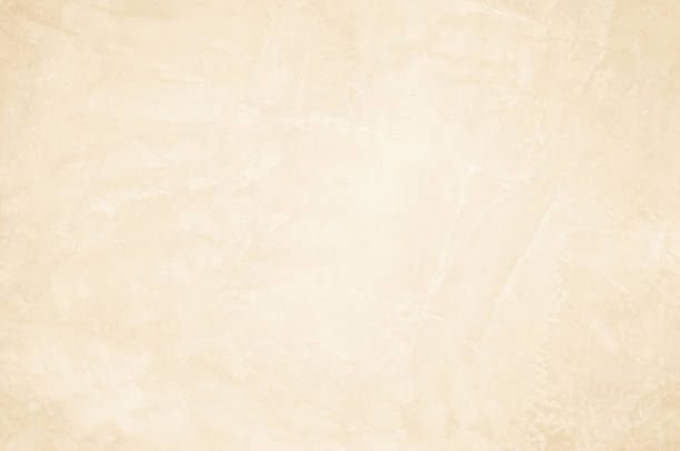 cream concrete wall background. - cream background stock pictures, royalty-free photos & images