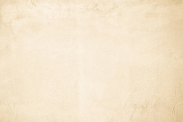 kremowa ściana betonowa do wnętrz lub odsłoniętej powierzchni na zewnątrz polerowanego betonu. cement mają piasek i kamień tonu vintage, naturalne wzory stare tło tekstury. - beżowy zdjęcia i obrazy z banku zdjęć