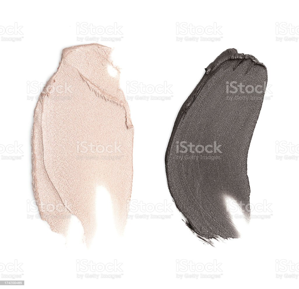 Cream Eye Shadow Color Sample XXXLarge stock photo