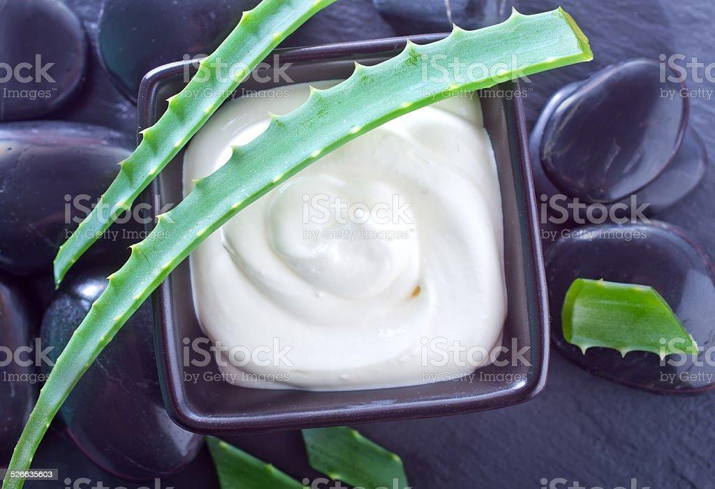 cream for face stock photo