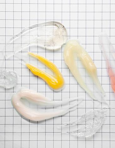 istock Cream Gel serum samples 1187463214