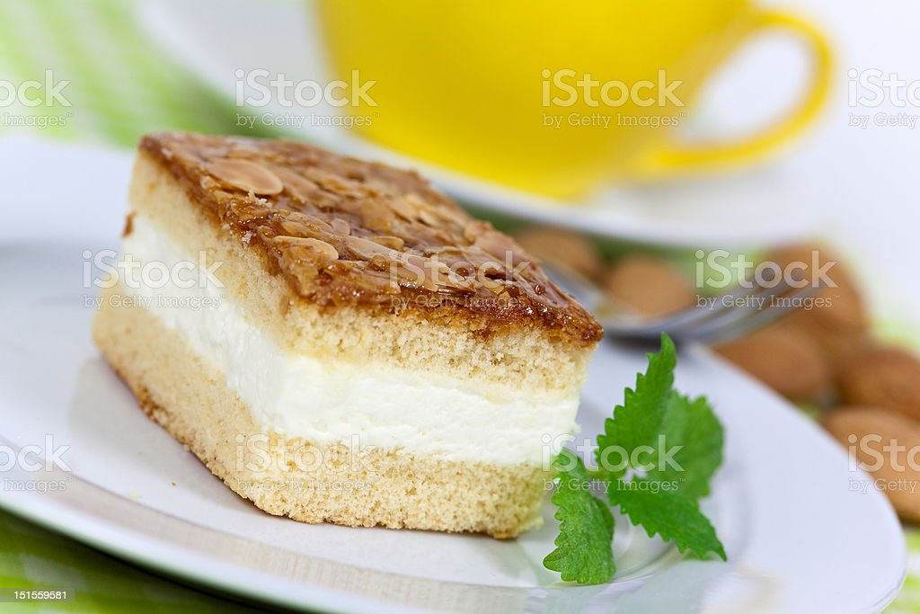 Creme-Honig-Almond Cake – Foto