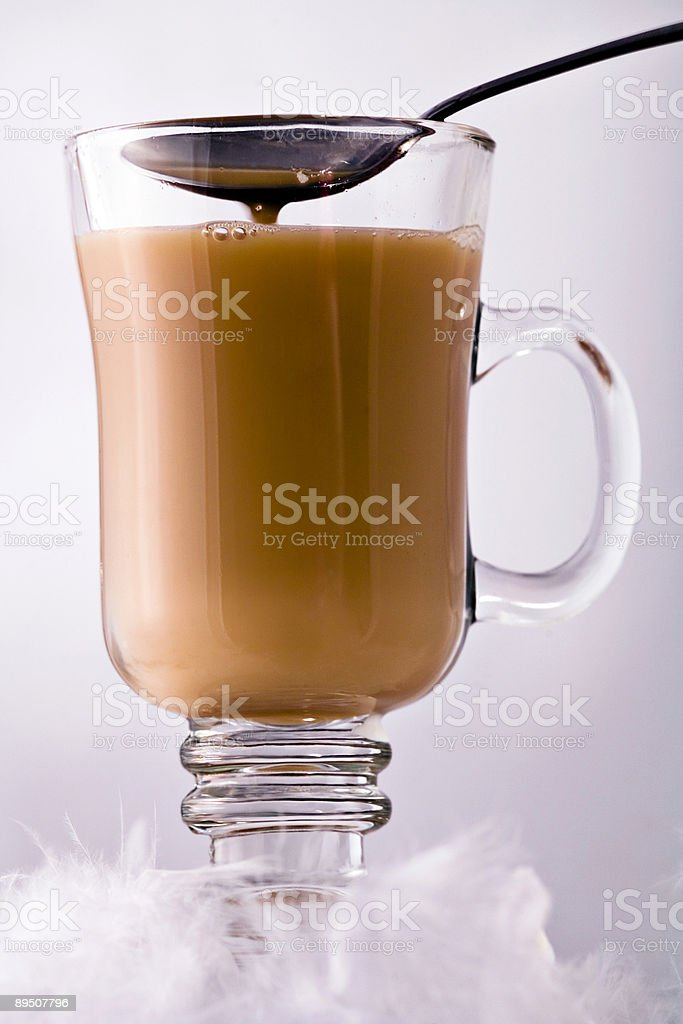 Cream mixing royalty-free stock photo