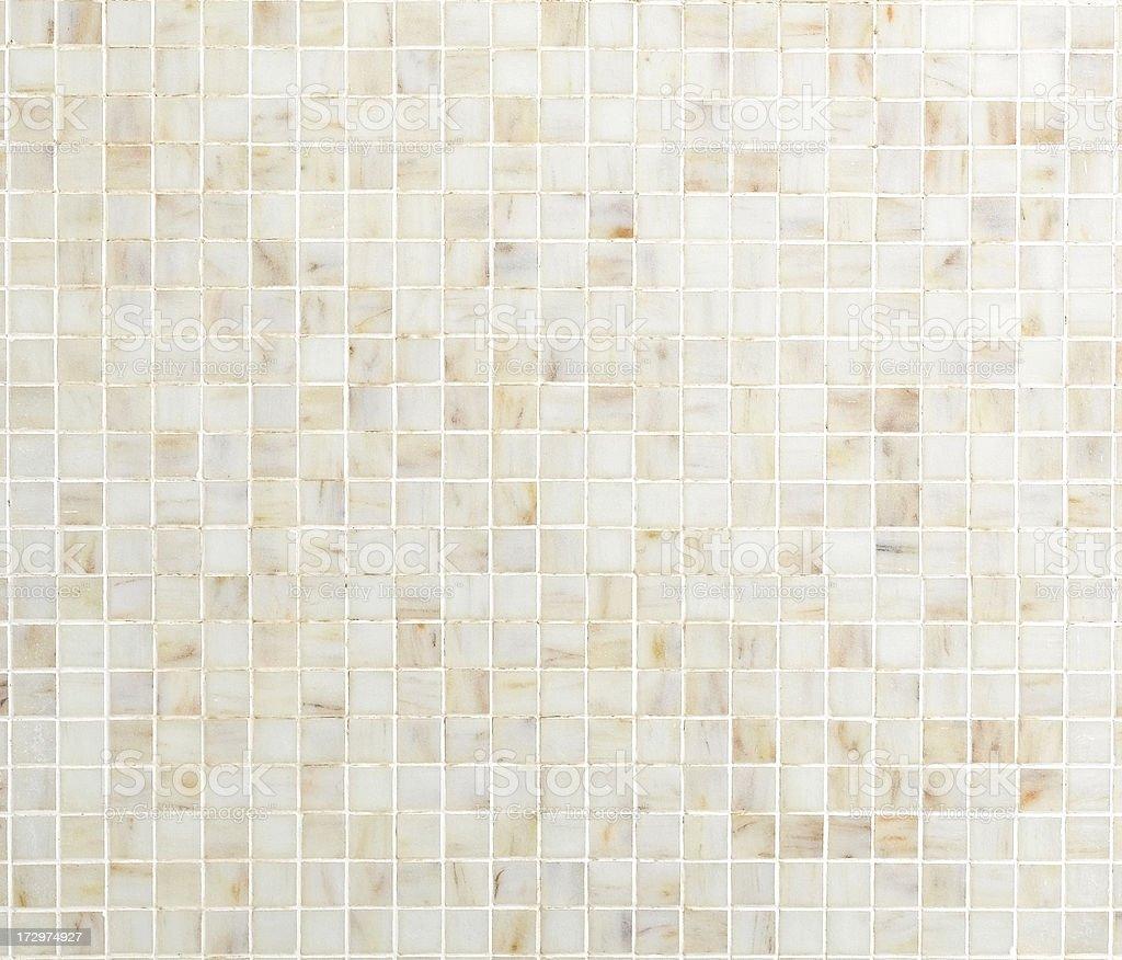 cream mosaic tile royalty-free stock photo