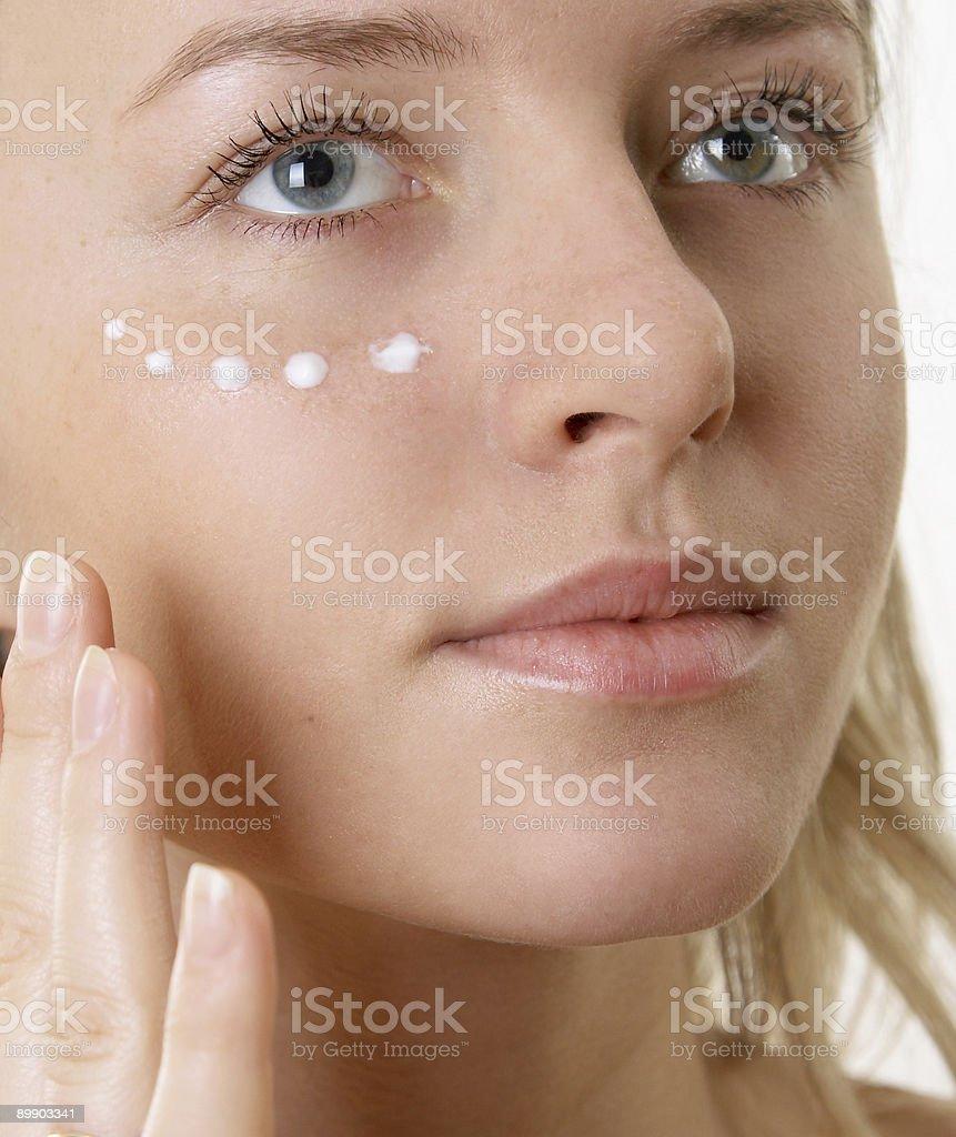 Крем на лицо Стоковые фото Стоковая фотография