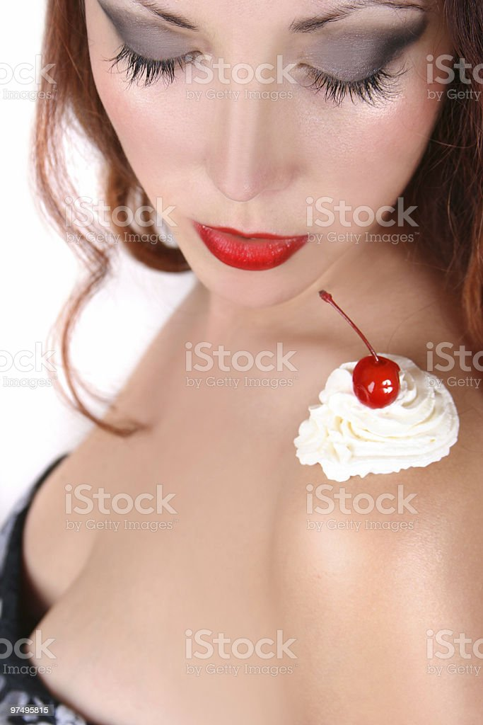 cream royalty-free stock photo
