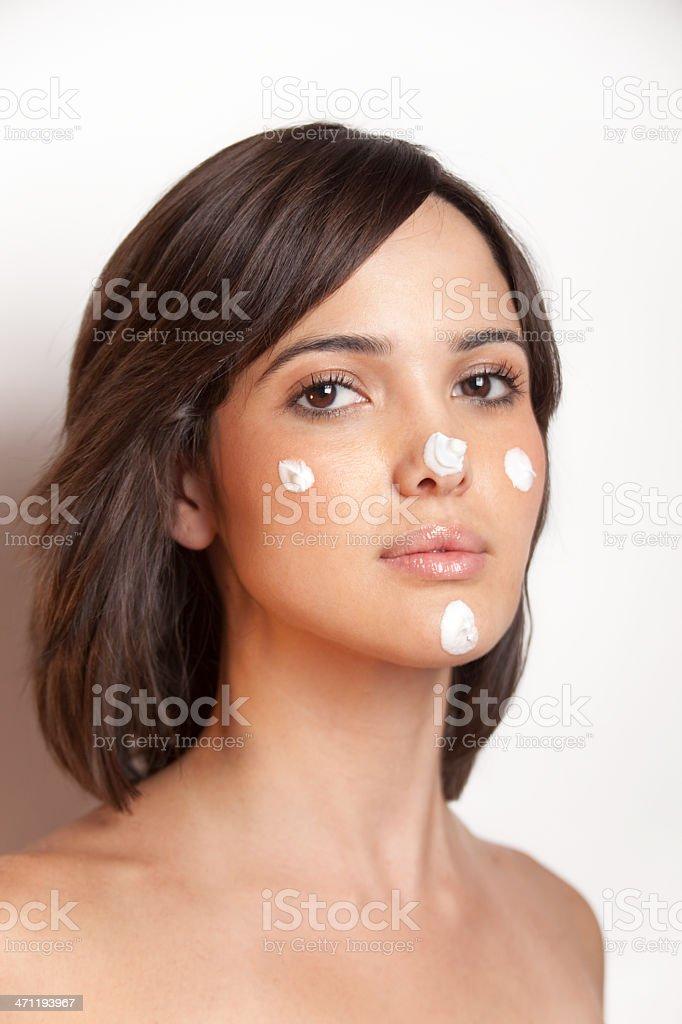 cream to be beautyful royalty-free stock photo