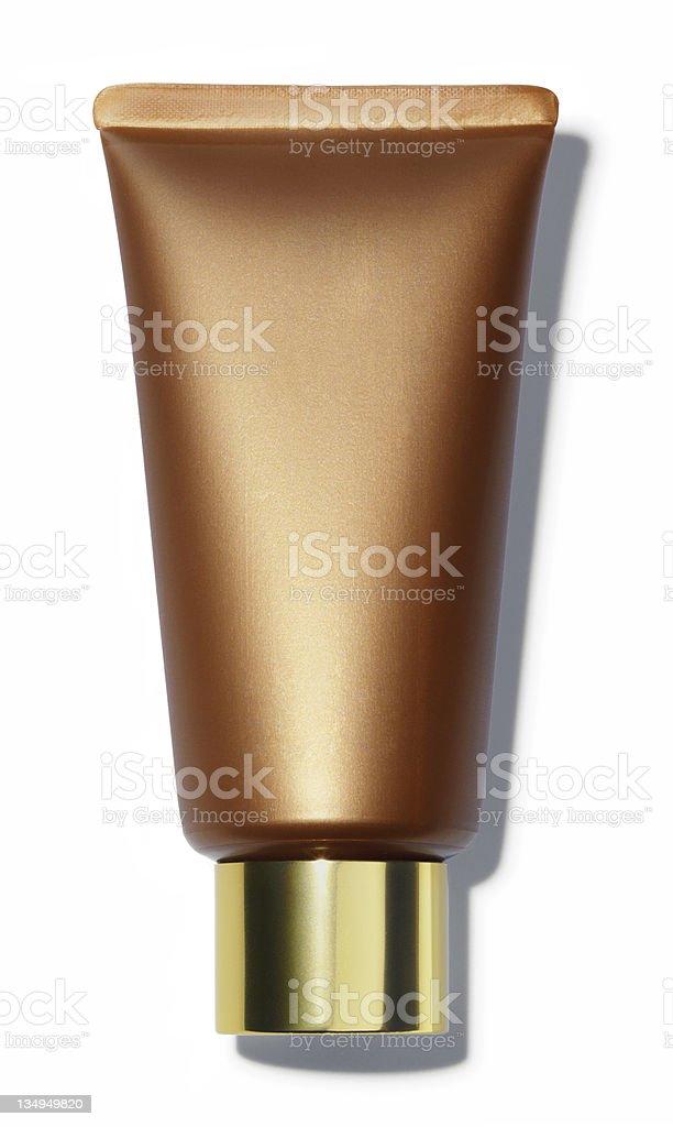 Cream tube royalty-free stock photo