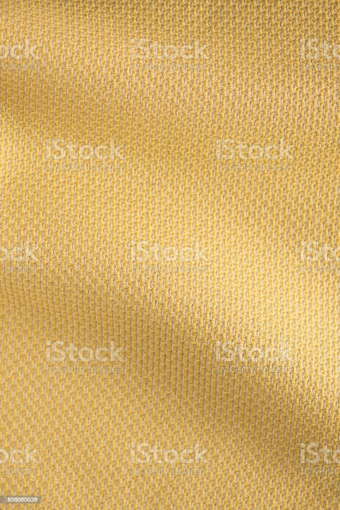 Cream-Colored Wavy Textile Fabric Swatch stock photo