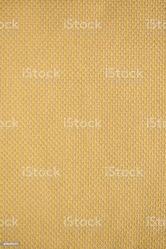 Cream-Colored Woven Textile Fabric Swatch stock photo