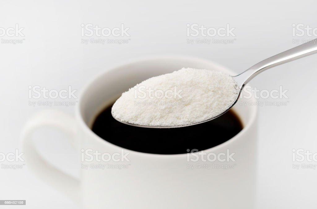 Creaming Powder stock photo