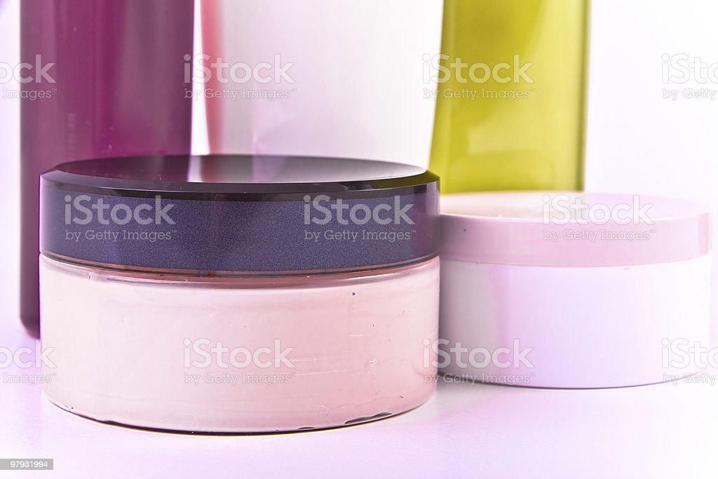 creams and lotions royalty-free stock photo