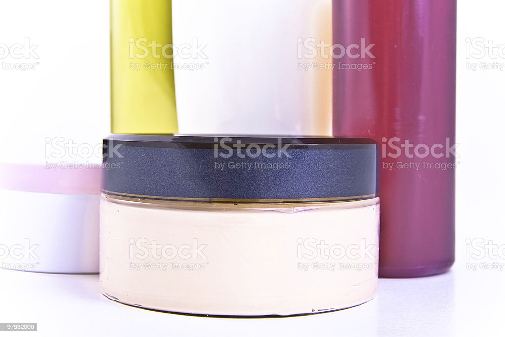 creams and lotions royalty-free stock photo