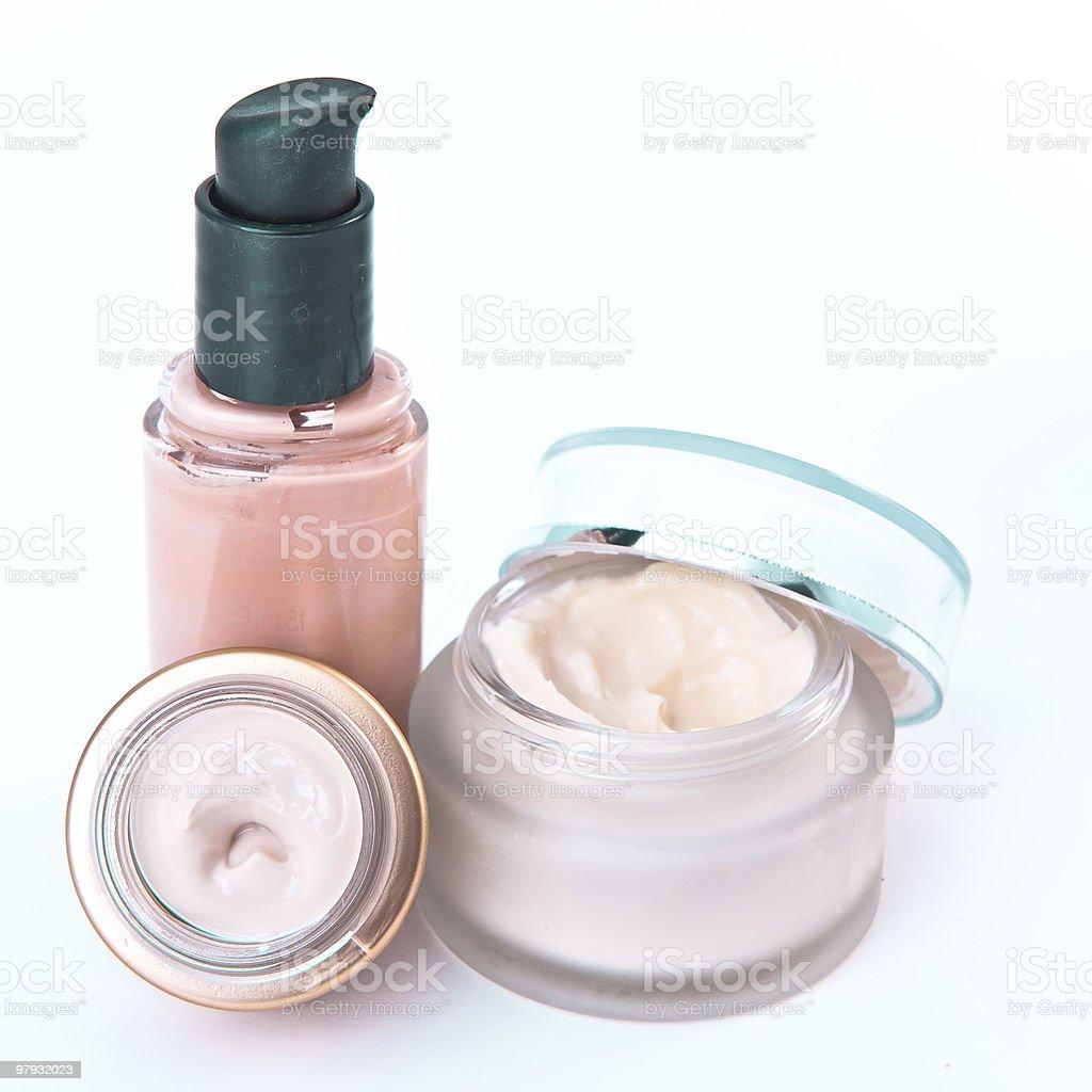 creams and makeup royalty-free stock photo