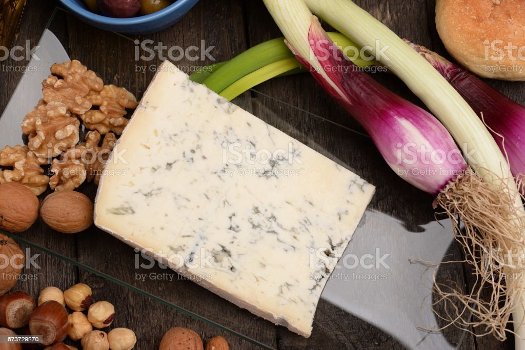 Creamy Gorgonzola Cheese photo libre de droits