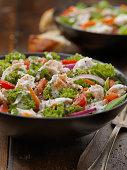Creamy Ranch Chicken Kale Salad