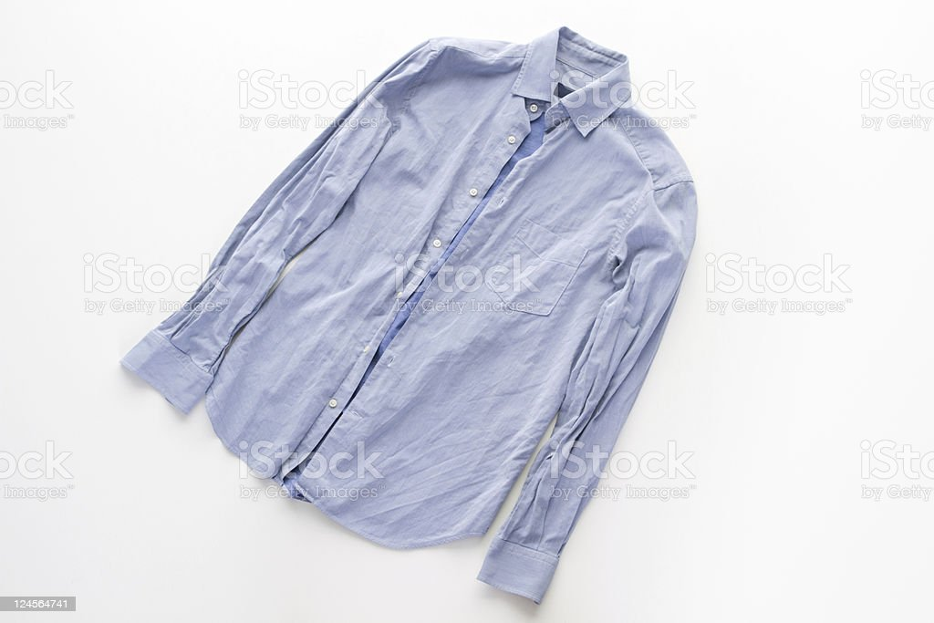 creased shirt royalty-free stock photo