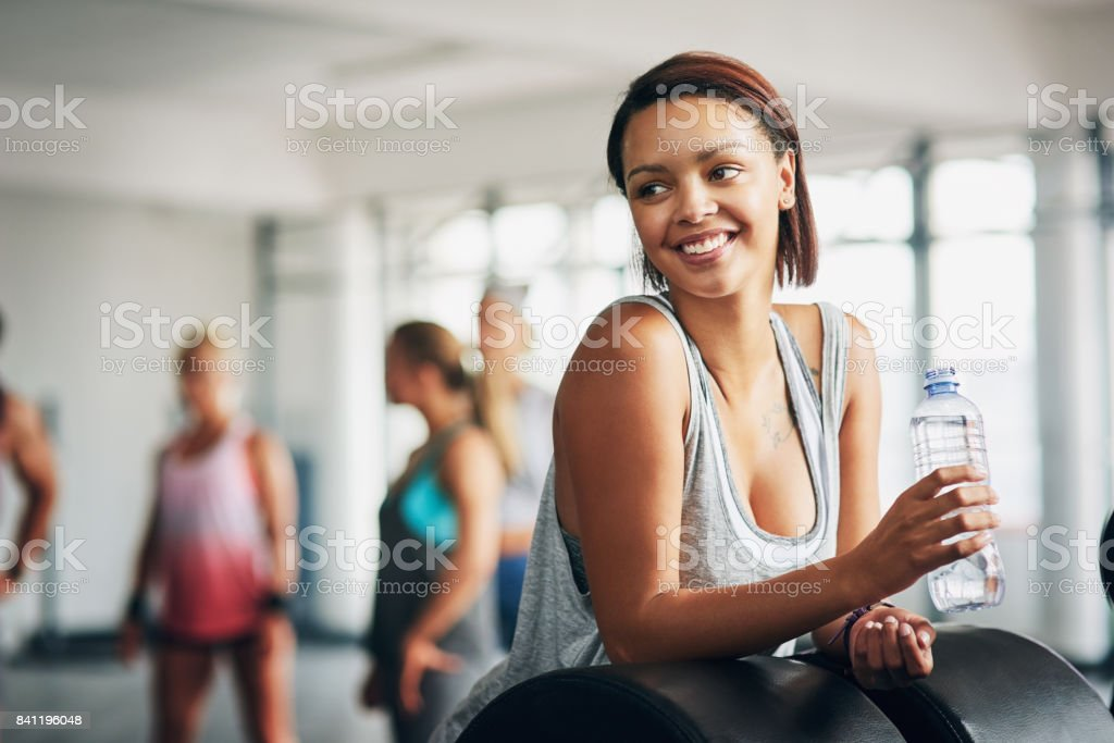 Create healthy habits not restrictions stock photo