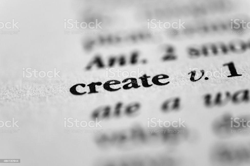 Create stock photo
