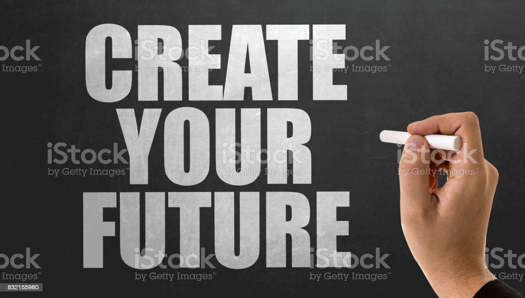 Crie o seu futuro  - foto de acervo