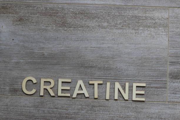 creatine themed photos stock photo